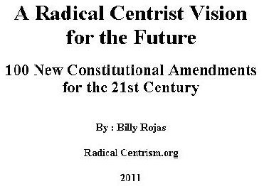 A Radical Centrist Vision for the Future